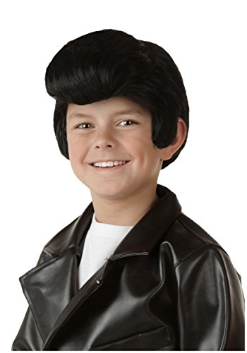 Fun Costumes unisex-child Child Grease Danny Wig Standard (Grease Wig)
