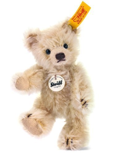 Steiff 10cm Mini Teddy Bear Jointed (Blond) by Steiff