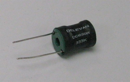 Lot of 25 Delevan DC630R 333K Fixed Inductor