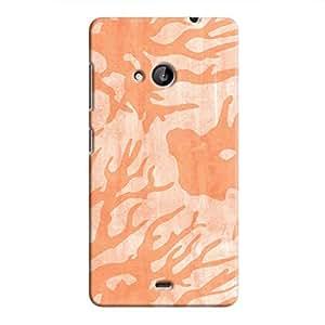 Cover It Up - Pink Shades Nature Print Lumia 535 Hard Case