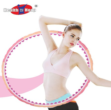Health Hoop®-passion Magnetic Weighted Hula Hoop Massage 4.9lb 2.2kg Exercise,fitness Step 3