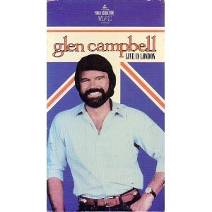 Glen campbell live in london vhs glen for How is glen campbell doing these days
