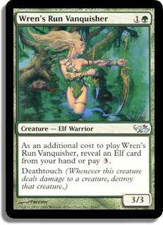 Magic: the Gathering Wren39;s Run Vanquisher - Duel Decks: Elves vs Goblins