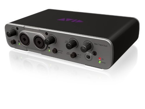 Avid Fast Track Duo with Pro Tools Express -Channel Audio Interface by Avid [並行輸入品] B01A96AG5S
