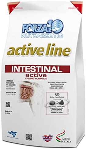 Forza10 Healthy Digestive Dry Dog Food – Intestinal Active for Healthy Digestion, 18 LB Bag