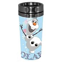 Disney DP7487ST Frozen Happy Olaf Stainless Travel Mug, 16 oz, Multicolor