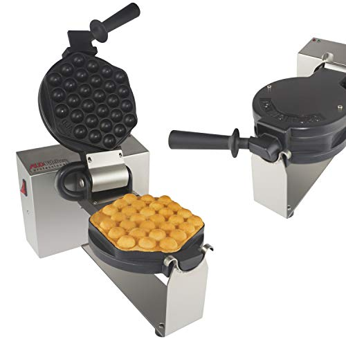 Professional for EGG Waffle, Puff, Hong Kong Style, Egg, QQ, Muffin, Cake Eggettes and Belgian Bubble Waffles) (BUBBLE WAFFLE) ()