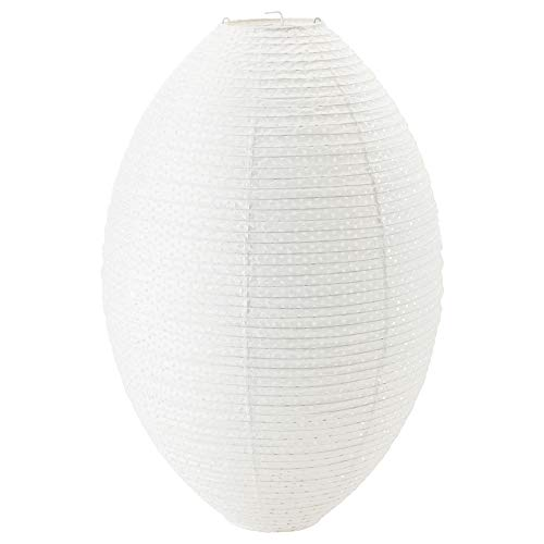 Ikea Pendant Lamp Shade, White Oval 19