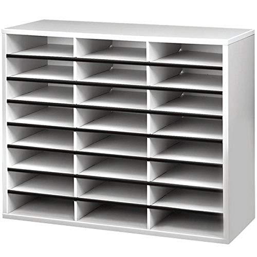 Fellowes - Mueble organizador de documentos, 24 compartimentos