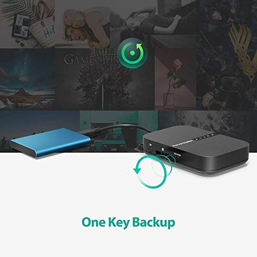 Portable SD Card HDD Backup and Data Transmission Unit 6700mAh External Battery Pack 2019 Version Wireless Travel Router AC750 RAVPower FileHub