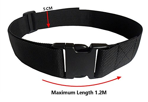 High Quality Black Adjustable Tool Belt for Electricians Waist Pocket Maintainance Pouch