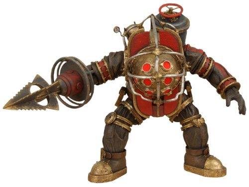 NECA Bioshock 2 Ultra Deluxe Exclusive Action Figure Big Daddy Elite Bouncer (Bioshock Big Daddy Ultra Deluxe Action Figure)
