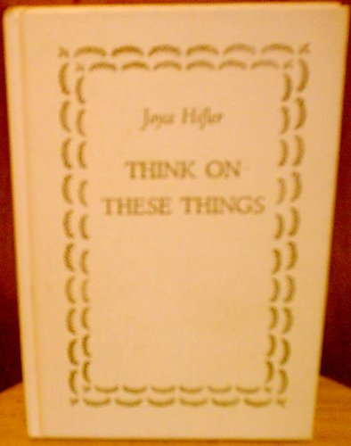 Download Think on These Things ebook