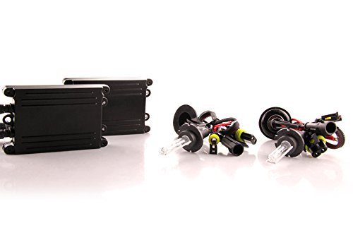 DDM Tuning 55W AC HID Conversion Slim Kit, Slim Digital Ballasts, D2H, 3000K ()