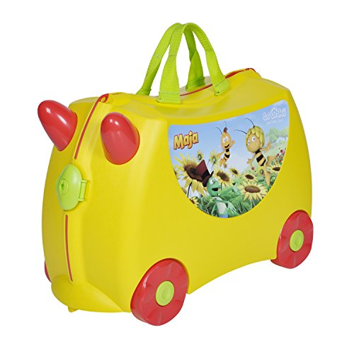 Trunki Ride On Suitcase Maya The Bee (Luggage Childrens Trunki)