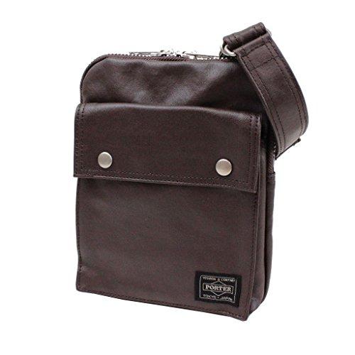 Yoshida Bag Porter Freestyle Vertical Type Shoulder Bag Brown 707-07146 by Yoshida Bag