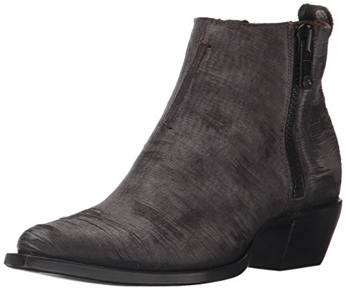 Leather Charcoal FRYE Shortie Moto Ankle Cut Vintage Sacha Women's Bootie qzY6T