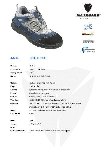 Maxguard sichheits Zapatos de clase D, PC-D340, S1P, Azul