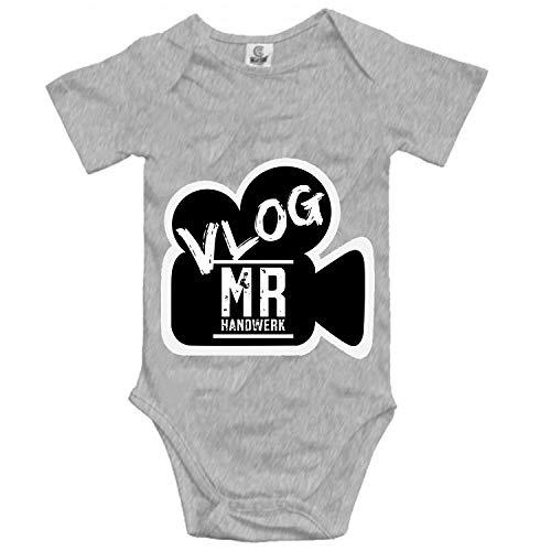 Vlog Mr Handwerk Printed Personalized Infant Bodysuit Jumpsuits]()