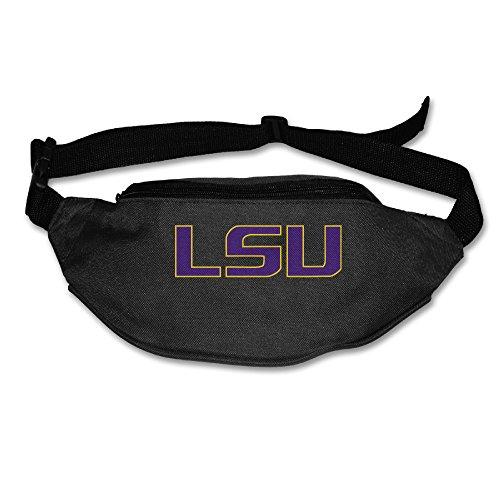 [Carina Louisiana State University - LSU Logo Personalize Running Pocket Black] (Lsu Mascot Costume)