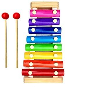 Little Monkey® Wooden Xylophone Musical...