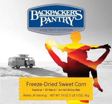Backpacker's Pantry Freeze-dried Sweet Corn, 19-Ounce