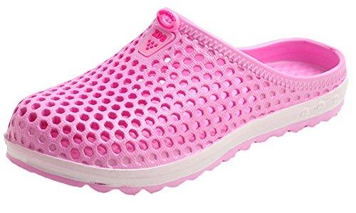 Sandales D'été Les Rose Respirante Tous pour Chaussures Plage à Femme Jardin Sabots Chaussures Bevalsa de Chaussons Sports Perforés Enfiler APqWR