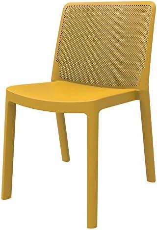 resol set de 4 sillas de diseño Fresh para interior, exterior ...