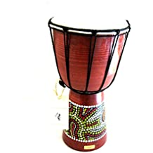 "Djembe Drum Bongo Congo African Drum -MED SIZE- 12"", JIVE BRAND- Professional Sound"