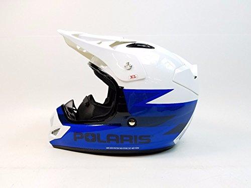 POLARIS DEMON 2.0 HELMET BLUE MD (Polaris Atv Helmet)