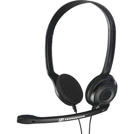 Sennheiser HEADSET PC 3 CHAT - Cuffia professionale con Microfono per Pc o  Laptop dfee86ecb11b