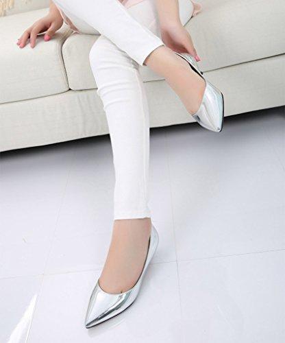femme silver soft Classique pu CAMSSOO 5zWqvAFUEx