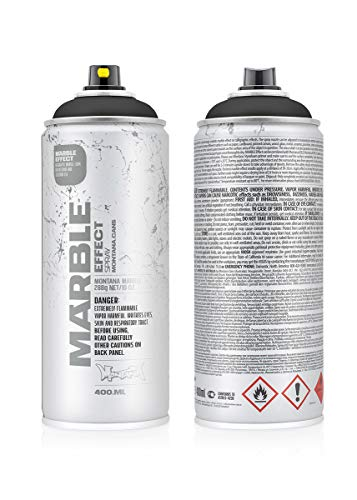Montana Cans MXE-M9000 Montana Effect 400 ml Marble Color, Black Spray ()