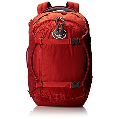 Osprey Porter Travel Backpack Bag, Hoodoo Red, 46-Liter