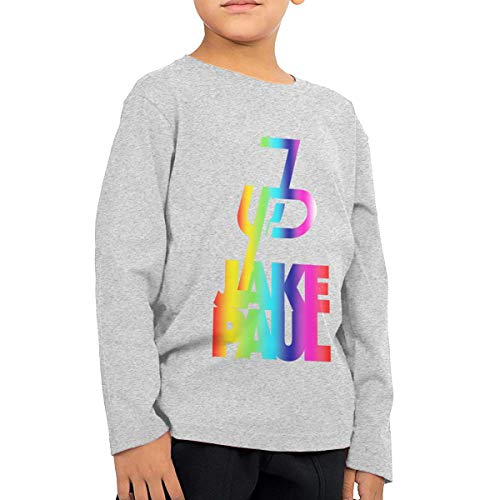 efcf71030a02 ASDF3GH32A3S3DF2 2-6 Year Old Children's Long Sleeve T-Shirt Jake Paul New  Personality