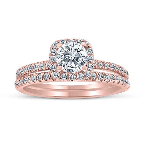 1 00ctw Diamond Bridal Engagement 10k product image