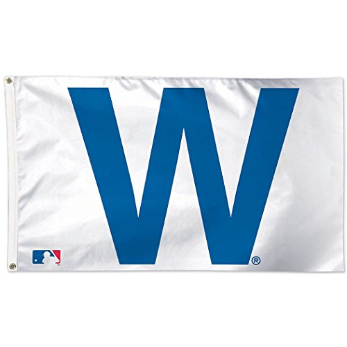 MLB Chicago Cubs 02484115 Deluxe Flag, 3' x 5'