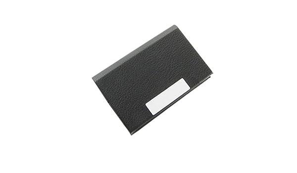 Amazon.com : eDealMax portátil Nombre del Titular de la tarjeta de crédito de negocios Organizador, Negro : Office Products