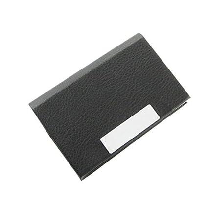 eDealMax portátil Nombre del Titular de la tarjeta de crédito de negocios Organizador, Negro