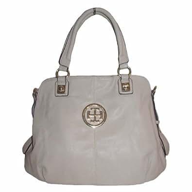New York Satchel Handbag (Beige)