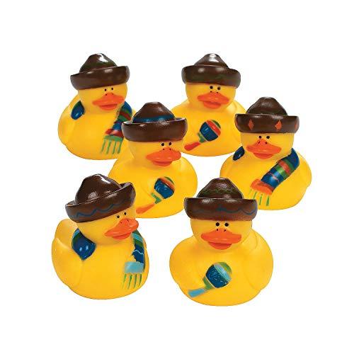 (Fun Express Fiesta Rubber Duckies (Set of 12) Cinco de Mayo Party)