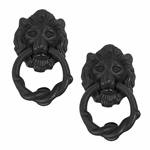 Renovator's Supply 25864 Cast Iron Lion Door Knocker, 6