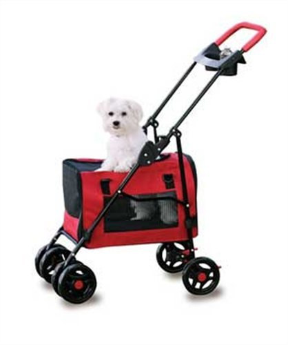 Four Paws 3-In-1 Pet Stroller Carrier