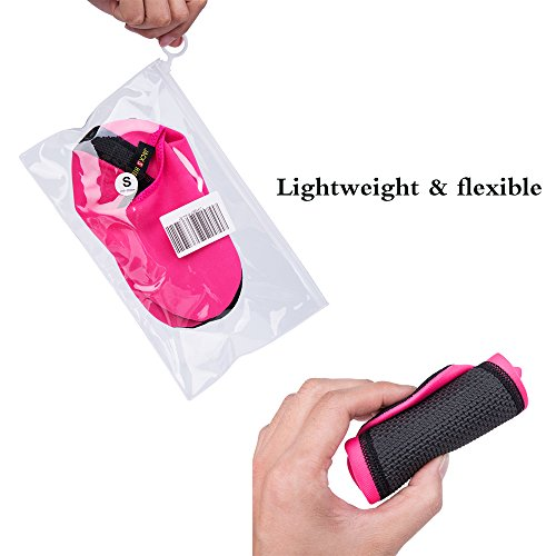 Swim For Beach JACKSHIBO Exercise Yoga Water Swim Surf Aqua Barefoot Skin Lightweight Socks Pink Shoes 07qT0w8S