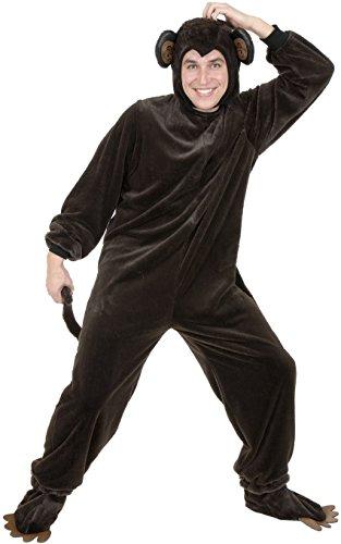 Mischievous Monkey (Charades mens Adult Mischievous Monkey Costume)