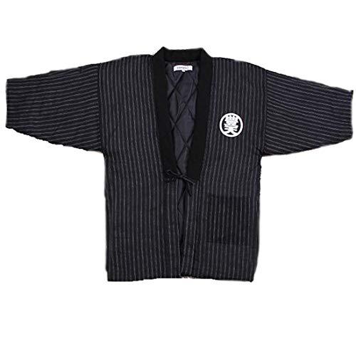 b67b12c185 MAYSONG Men s Japan Kimono Yukata Cardigan