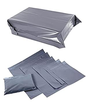 7fdcfad52d43 500 x Strong Grey Poly Plastic Mailing Post Mail Self Seal Bags Mailers (22  x 30