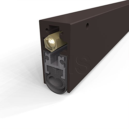 TMS Automatic Door Bottom / High Sound Heavy Duty / Surface Mounted / Dark Bronze Anodized / 36