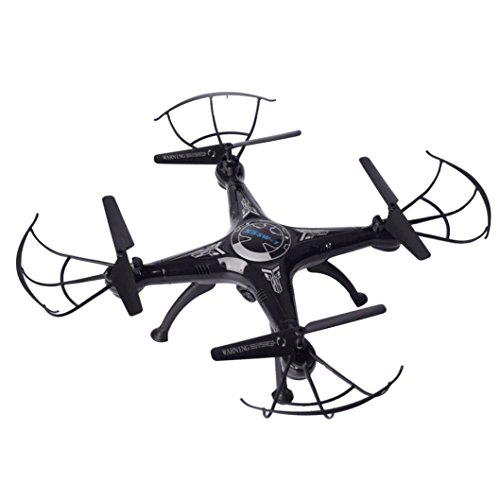 Predator Mini RC Helicopter Drone 2.4Ghz 6-Axis Gyro 4 Channels X5SW-1 6-Axis Gyro 2.4G 4CH Real-time Images Return RC FPV Quadcopter Drone Wifi With HD Camera One-press Return for Drone Training -SHY