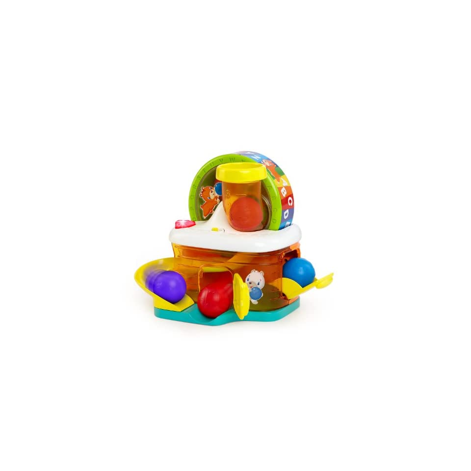 Bright Starts Baby Toy, ABC Hamster House